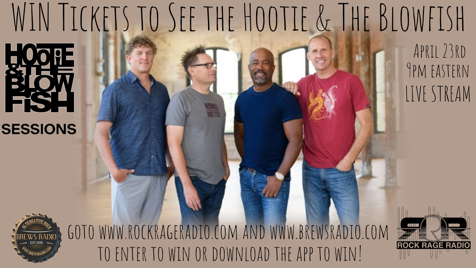 Hootie Tickets Banner